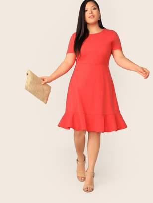 6dd9814713 Shein Orange Plus Size Dresses - ShopStyle