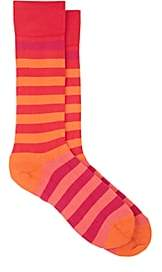 Paul Smith Men's Hawk Cotton-Blend Mid-Calf Socks - Orange