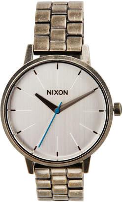 Nixon 37mm Kensington Bracelet Watch, Antiqued