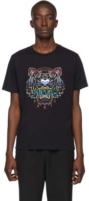 Kenzo Black Gradient Tiger T-Shirt