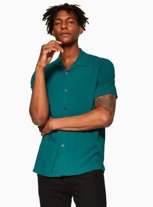 TopmanTopman Teal Revere Shirt