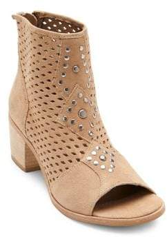 Matisse Brooklyn Suede Peep-Toe Booties