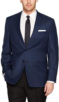 Calvin Klein Men's Malik Slim Fit Single Breast Two Button Suit