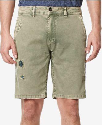 Buffalo David Bitton Men's Ripped Shorts
