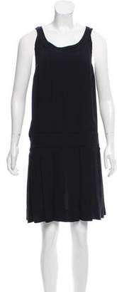 Marc by Marc Jacobs Silk Sleeveless Knee-Length Dress