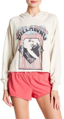 Billabong White Wash Hooded Sweatshirt