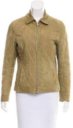 Loro Piana Suede Quilted Jacket