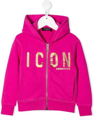 DSQUARED2 Icon zipped hoodie