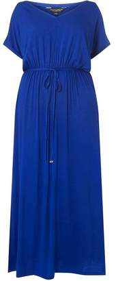 Dorothy Perkins Womens **DP Curve Cobalt Jersey Maxi Dress