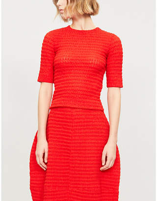 Jil Sander Textured knitted top