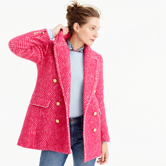 Diamond tweed coat $325 thestylecure.com