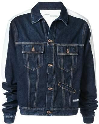 Off-White stripe detail denim jacket