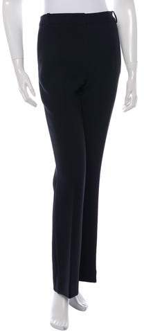 Christian Dior Wide-Leg Wool Pants