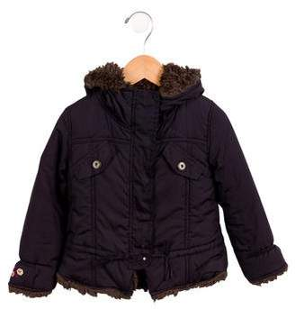 Catimini Girls' Hooded Coat