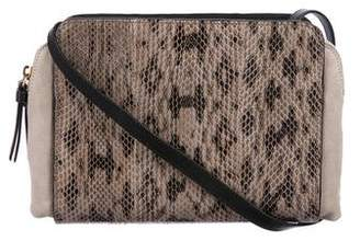 Nina Ricci Marche Duo Snakeskin Crossbody Bag