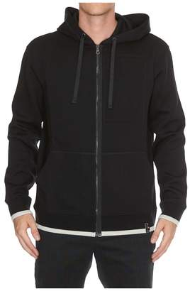 Lanvin Embroidery Compact Hoodie