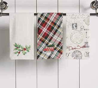 Pottery Barn Holiday Guest Hand Towels - Set of 3