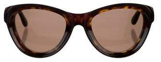Givenchy Tortoiseshell Cat-Eye Sunglasses