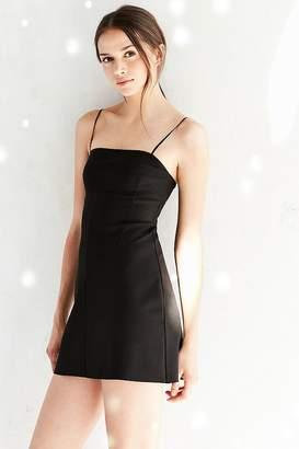 Silence & Noise Silence + Noise Audrey Black A-Line Mini Slip Dress