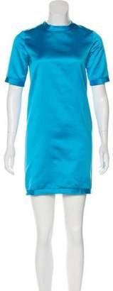 Burberry Satin Shift Dress