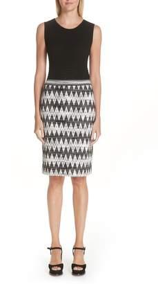 Missoni Diamond Knit Skirt