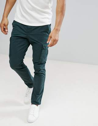 Tommy Hilfiger Denton Cargo Pants In Deep Green