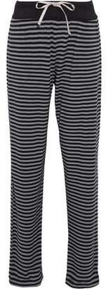 DKNY Striped Stretch Modal-Jersey Pajama Pants