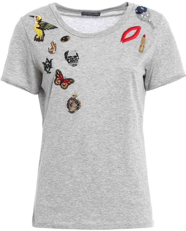 Alexander McQueenAlexander Mcqueen Obsession T-shirt