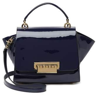Zac Posen Eartha Top Handle Patent Leather Crossbody Bag
