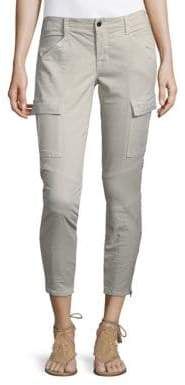 J Brand Twill Zip Cuff Cargo Pants