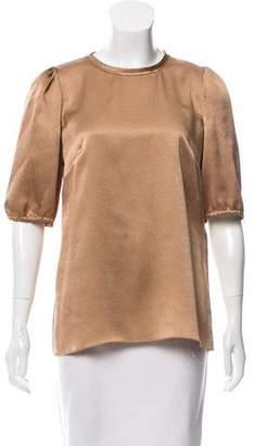 Dolce & Gabbana Short Sleeve Crew Neck Top
