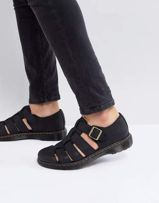 a79b38ecade Dr. Martens Revive Fenton Closed Sandals In Black
