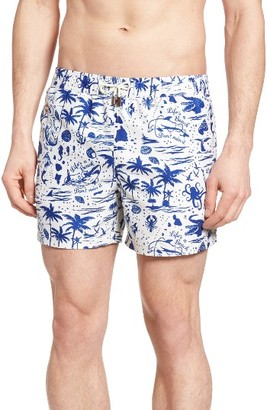 Men's Nikben Life's A Beach Swim Trunks $105 thestylecure.com