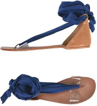 Free People Toe strap sandals