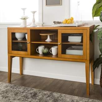 Mid-Century MODERN Manor Park 52 Wood Buffet with Tapered Legs- Acorn