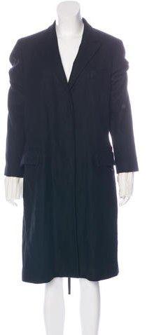 Ann DemeulemeesterAnn Demeulemeester Wool Long Coat