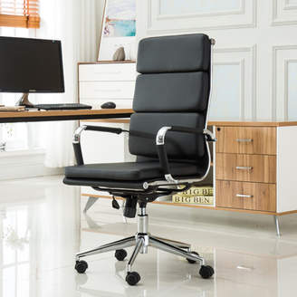 Roundhill Furniture Modica Contemporary High-Back Office Desk Chair