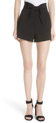 A.L.C. Kerry Tie High Waist Shorts