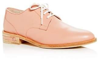 Freda Salvador Women's Strut Leather Plain Toe Oxfords