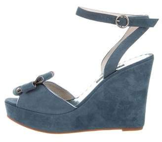 Marc Jacobs Suede Platform Wedges w/ Tags