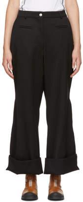 Loewe Black Flare Fisherman Trousers