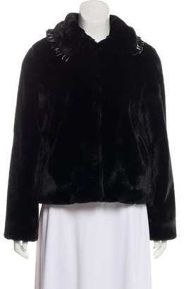 Shrimps Faux Fur Casual Jacket w/ Tags