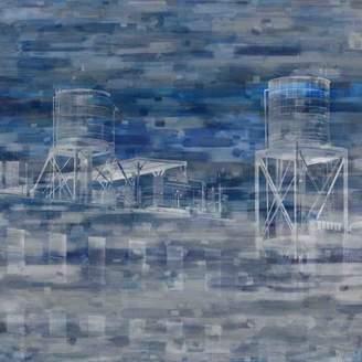 Parvez Taj Industrial NYC Art Print on Canvas