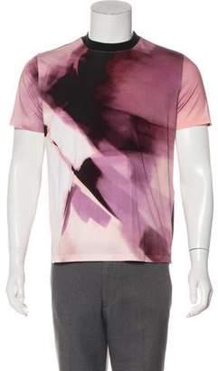Givenchy Brush Stroke Print Short Sleeve T-Shirt