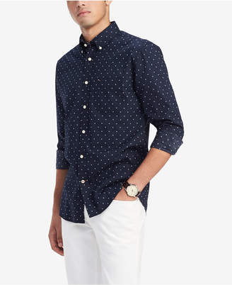 Tommy Hilfiger Men Classic-Fit Bob Geo-Print Shirt