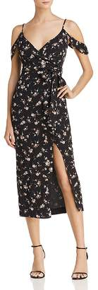 Bardot Floral Mock Wrap Dress - 100% Exclusive