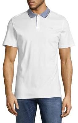 Calvin Klein Contrast Collar Polo