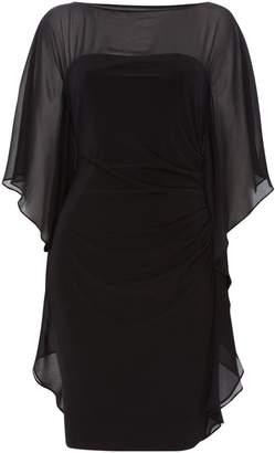 Lauren Ralph Lauren Short sleeve overlay dress
