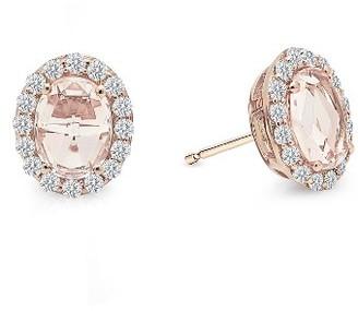Women's Lafonn Simulated Diamond Halo Earrings $165 thestylecure.com