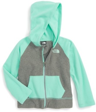 Toddler Girl's The North Face Glacier Full Zip Hoodie $40 thestylecure.com